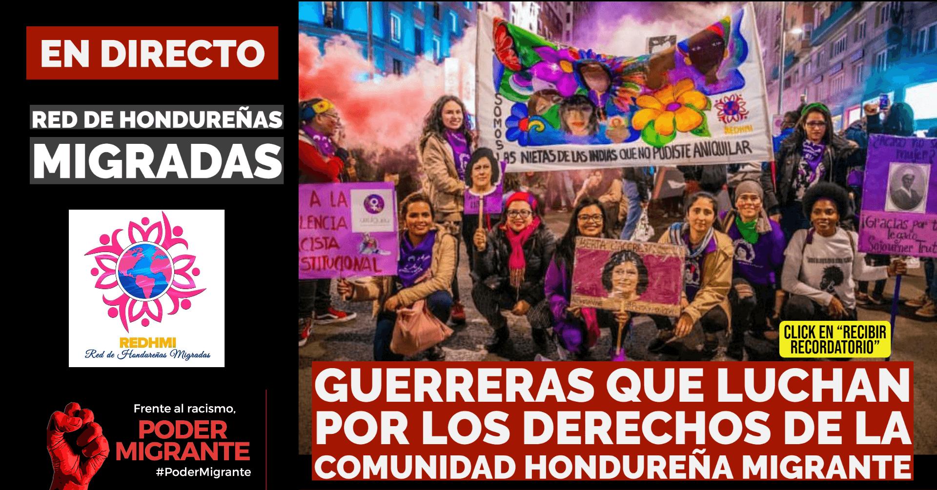 En Directo con la Red Hondureñas Migradas (REDHMI)