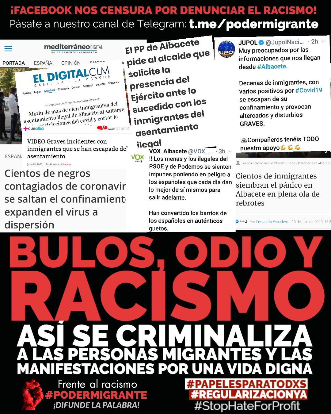 BULOS, ODIO Y RACISMO