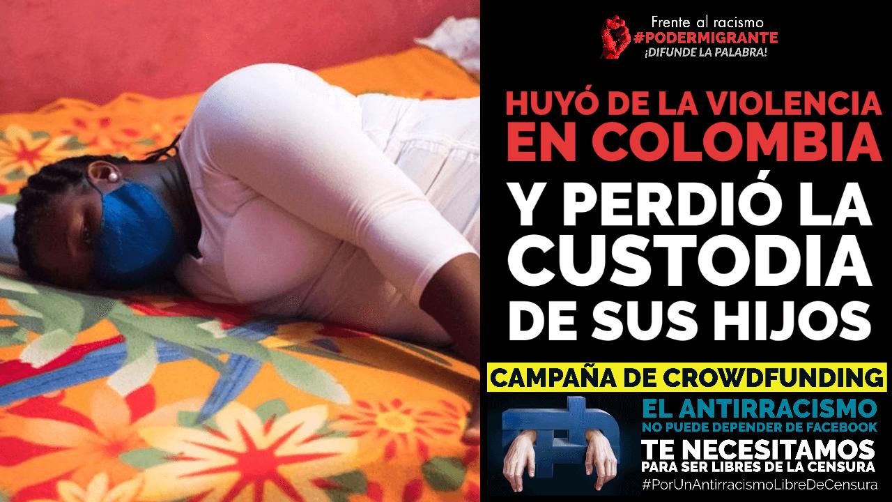 HUYÓ DE LA VIOLENCIA EN COLOMBIA Y PERDIÓ LA CUSTODIA DE SUS HIJOS