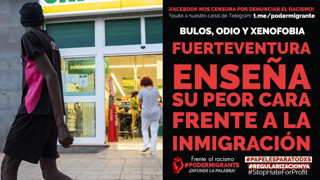 Fuerteventura enseña su peor cara frente a la inmigración