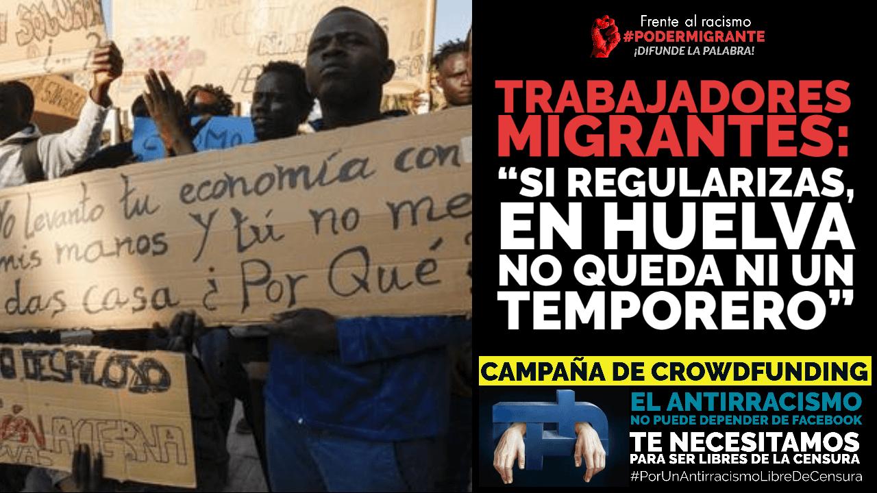 """TRABAJADORES MIGRANTES: """"Si regularizas, en Huelva no queda ni un temporero"""""""
