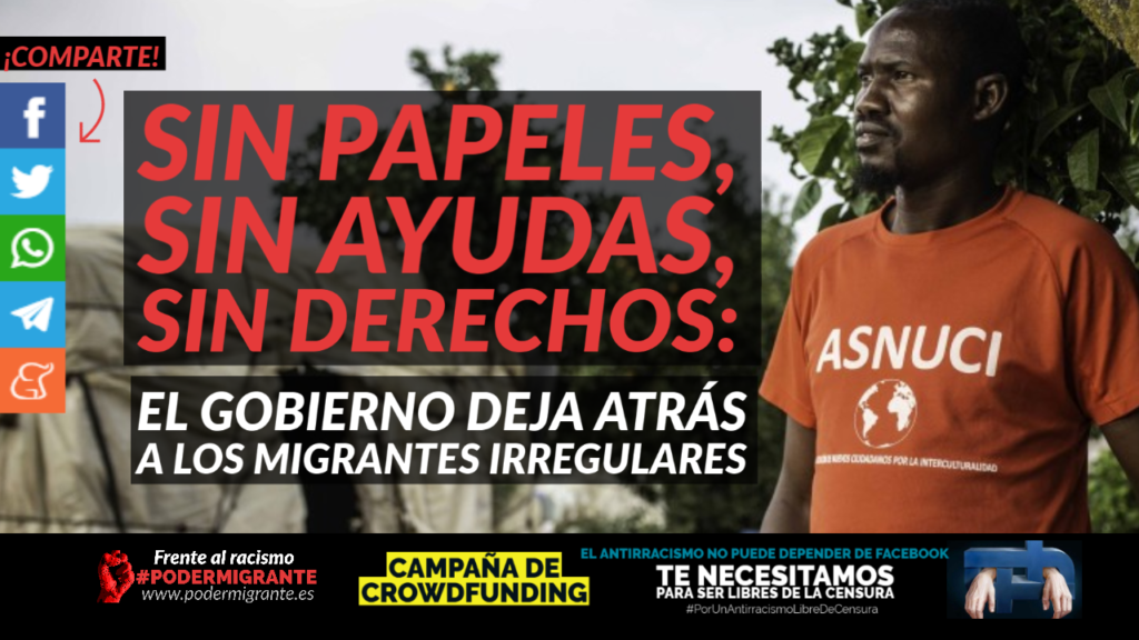 SIN PAPELES, SIN AYUDAS, SIN DERECHOS: el Gobierno deja atrás a los migrantes irregulares