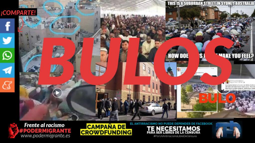 OLEADA DE BULOS CONTRA LA COMUNIDAD MUSULMANA PARA EXTENDER LA ISLAMOFOBIA