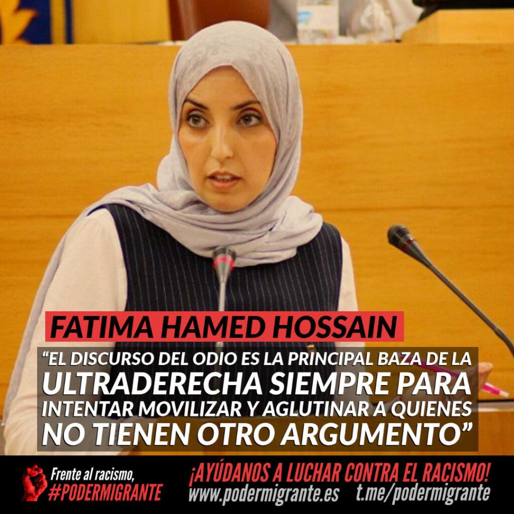 """ENTREVISTA A FATIMA HAMED HOSSAIN: """"ES UN RETO DESDE QUE EMPECÉ EN POLÍTICA IR ROMPIENDO BARRERAS Y PREJUICIOS"""""""