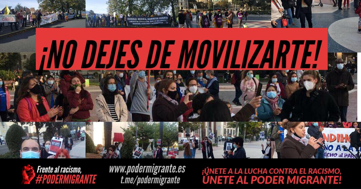 ¡NO DEJES DE LUCHAR Y DE MOVILIZARTE!