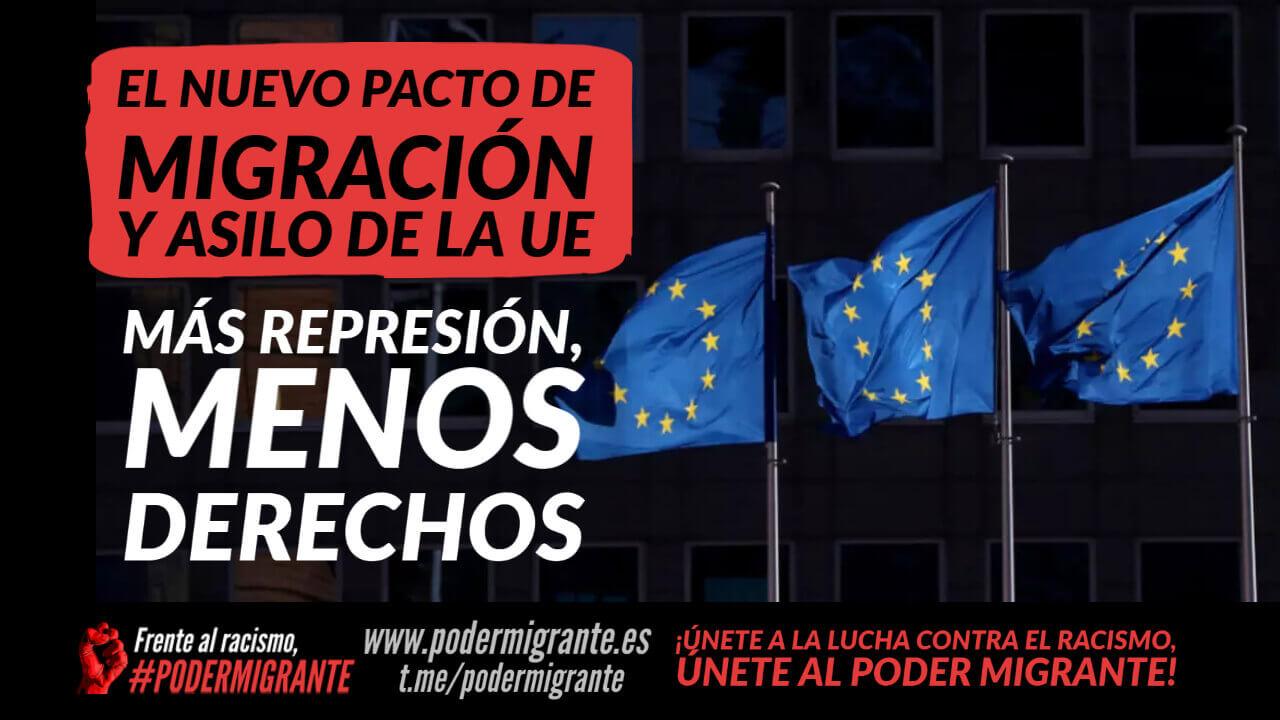 EL NUEVO PACTO DE MIGRACIÓN Y ASILO DE LA UE: más represión, menos derechos