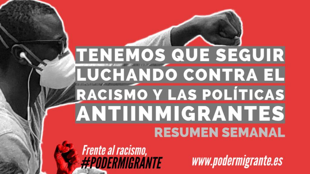 TENEMOS QUE SEGUIR LUCHANDO CONTRA EL RACISMO Y LAS POLÍTICAS ANTIINMIGRANTES