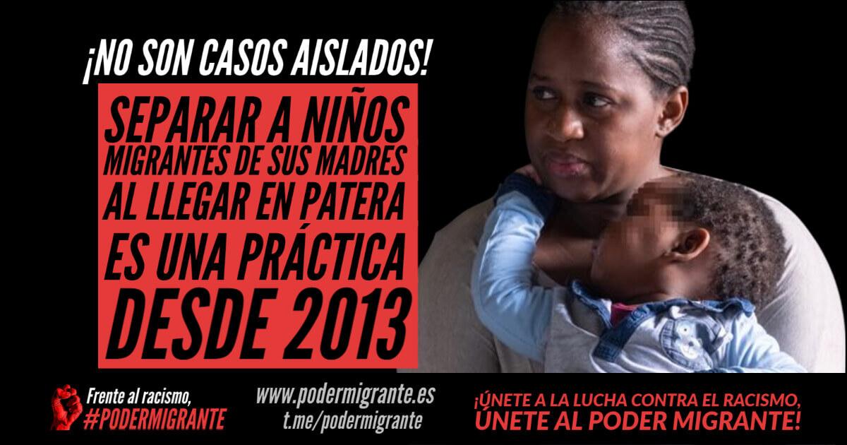 NO SON CASOS AISLADOS: Separar a niños migrantes de sus madres es una práctica desde 2013