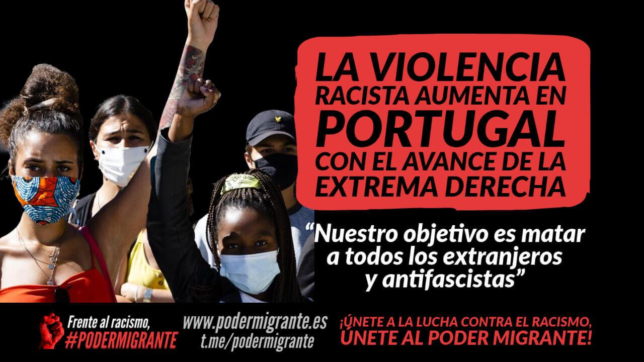 LA VIOLENCIA RACISTA AUMENTA EN PORTUGAL CON EL AVANCE DE LA EXTREMA DERECHA