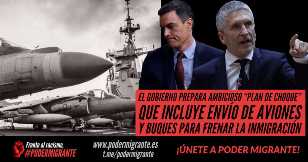 """EL GOBIERNO PREPARA AMBICIOSO """"PLAN DE CHOQUE"""" que incluye el envío de aviones y buques para frenar la inmigración"""