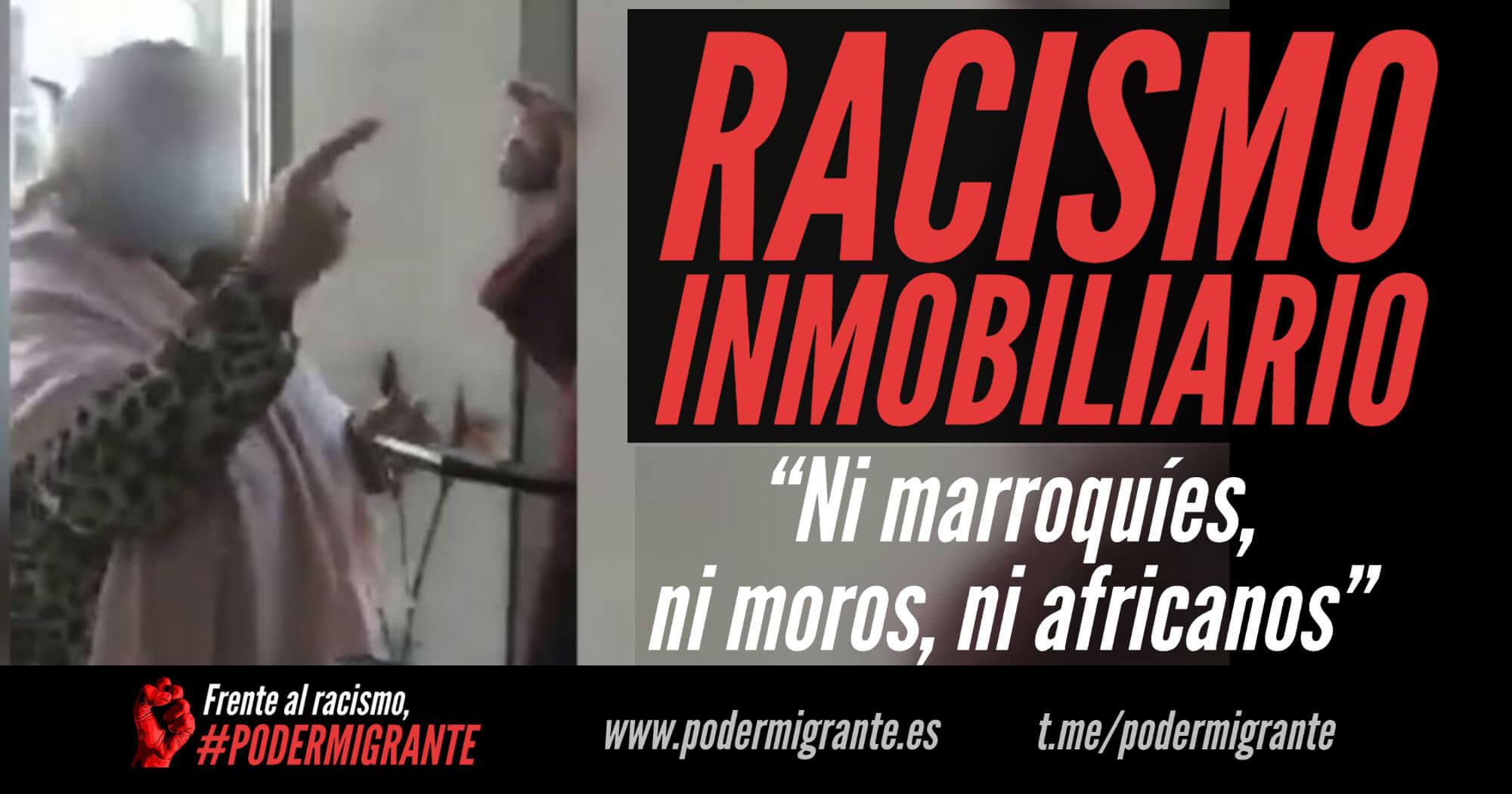 """RACISMO INMOBILIARIO: """"Ni marroquíes, ni moros, ni africanos"""""""