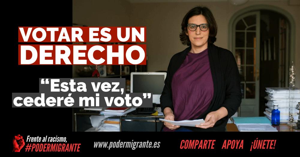 Cede tu voto en las elecciones del 14F