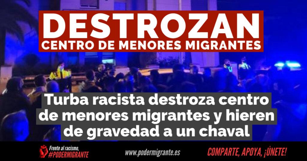 Destrozan un centro de menores migrantes en Torredembarra y hieren de gravedad a un residente