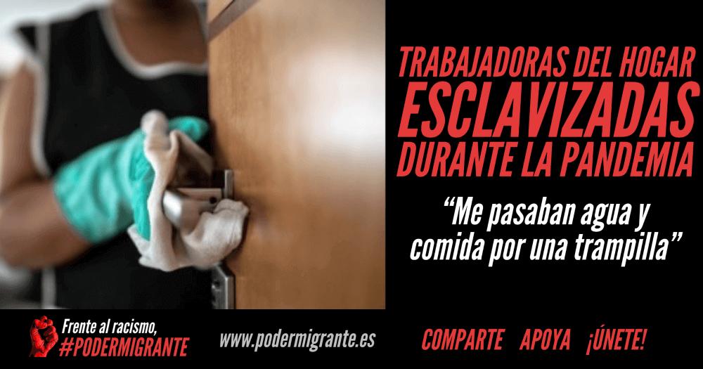 """TRABAJADORAS DEL HOGAR ESCLAVIZADAS DURANTE LA PANDEMIA: """"Me pasaban agua y comida por una trampilla"""""""