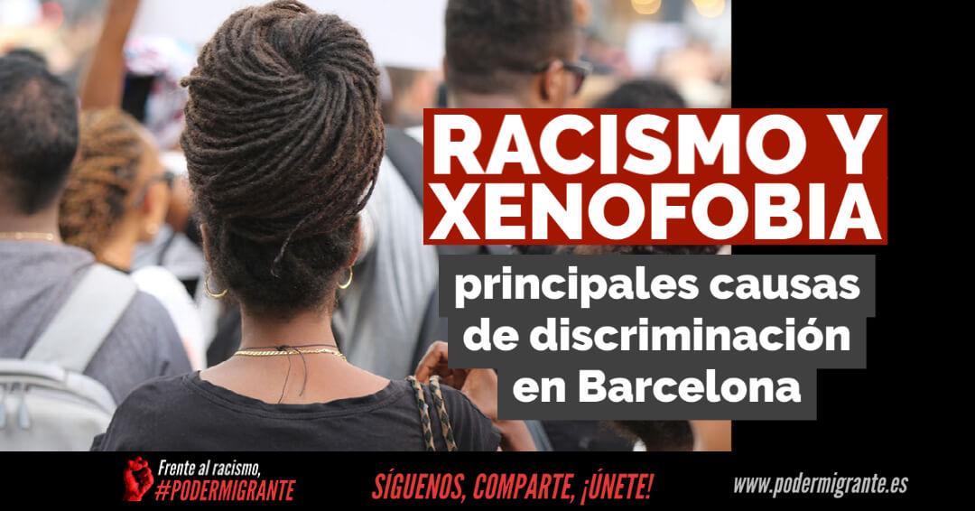 RACISMO Y XENOFOBIA, principales causas de discriminación
