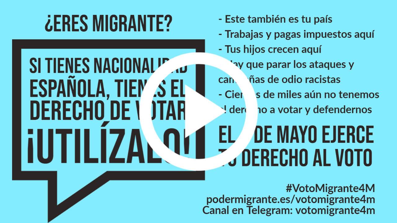 #VotoMigrante4M | ¿Qué dicen y hacen los partidos políticos sobre la inmigración?