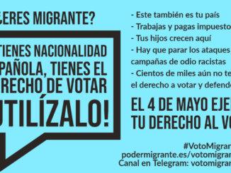 #VotoMigrante4M | El 4 de mayo EJERCE TU DERECHO AL VOTO