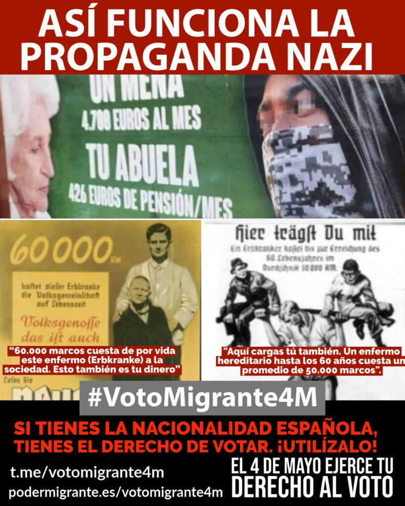 COMUNICADO | Ante la propaganda nazi, reacción y movilización