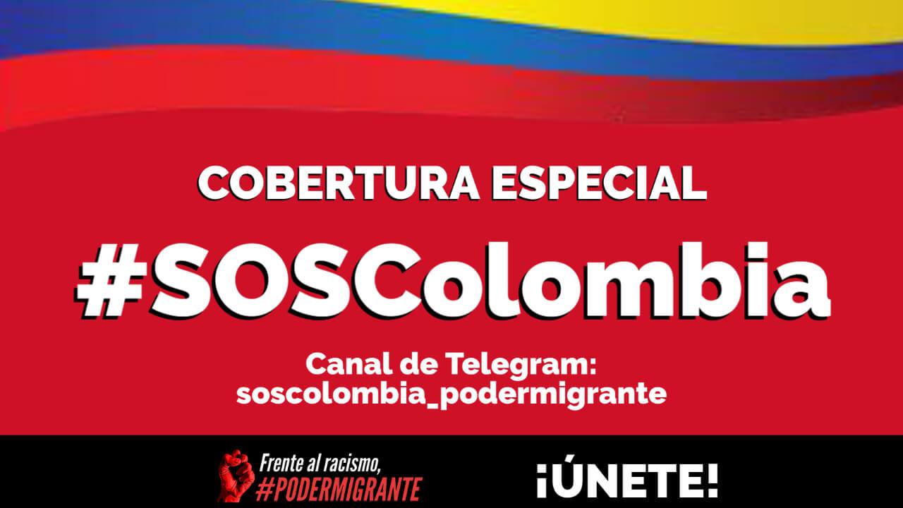 #SOSColombia | COMUNICADO URGENTE