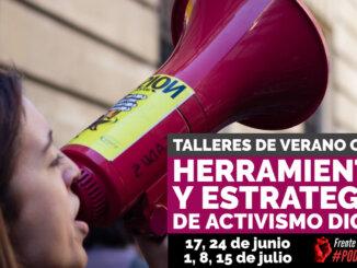 TALLERES DE VERANO ONLINE: Herramientas y estrategias de activismo digital