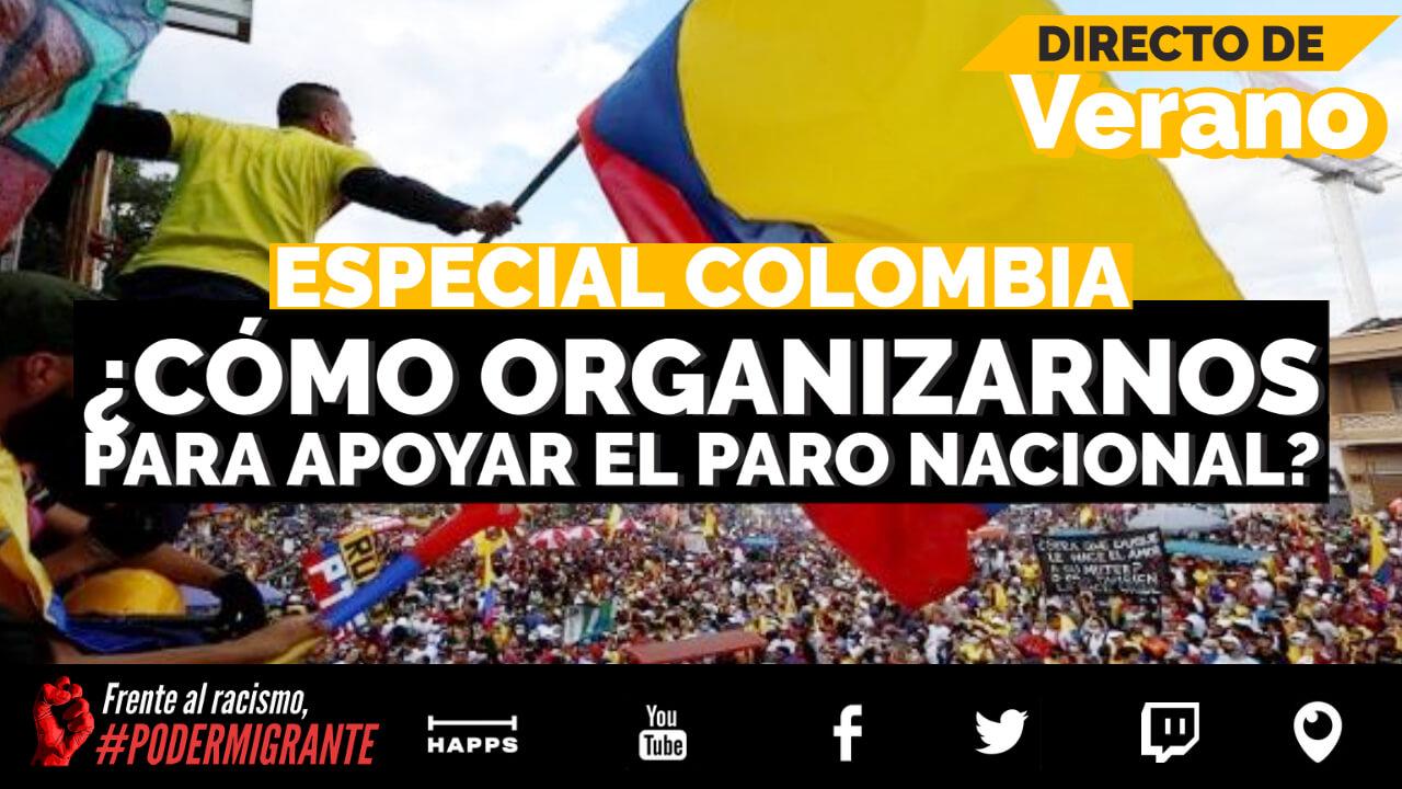 COLOMBIA: ¿Cómo organizarnos desde el exterior para apoyar el Paro Nacional?