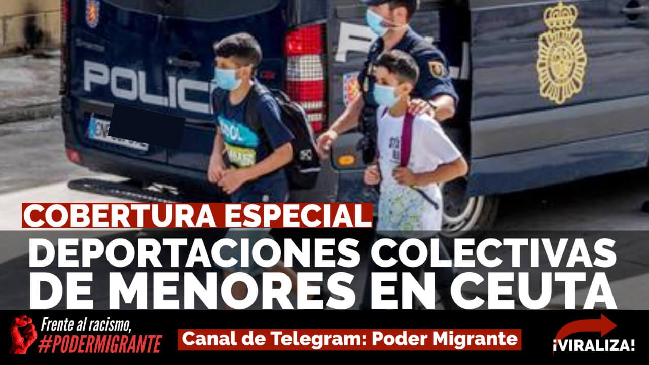 COBERTURA ESPECIAL: Deportaciones masivas de menores en Ceuta