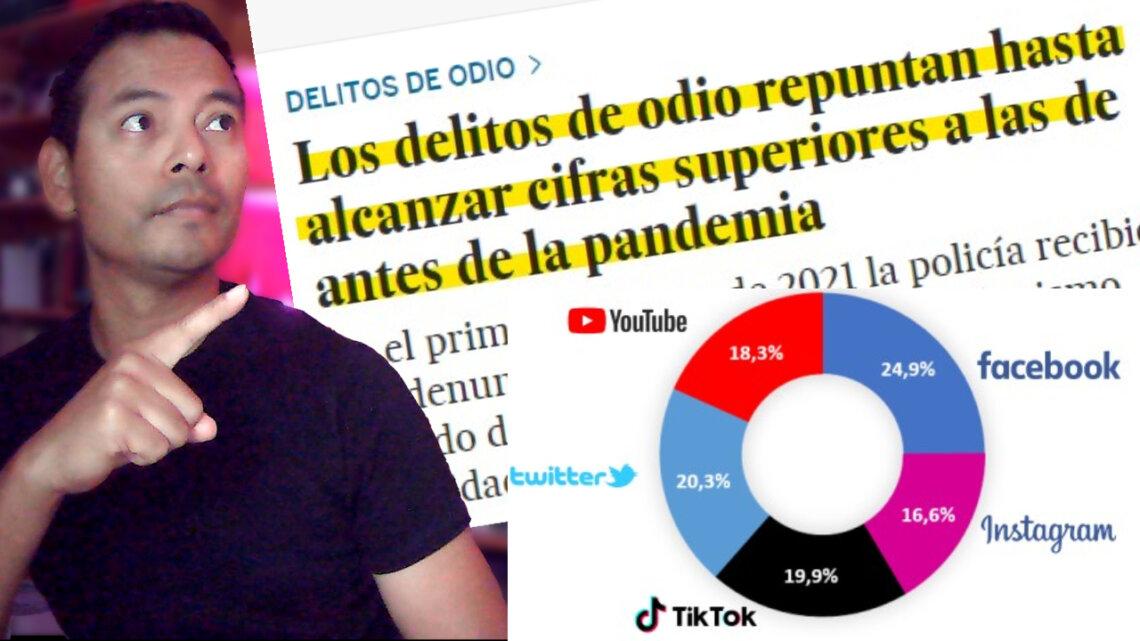 INFORMES Y DATOS OFICIALES sobre el aumento de los delitos de odio en España 2020-2021
