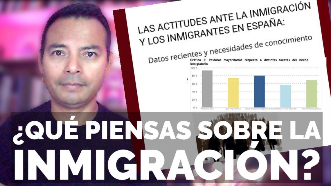 ENCUESTA sobre las Actitudes ante la inmigración en España