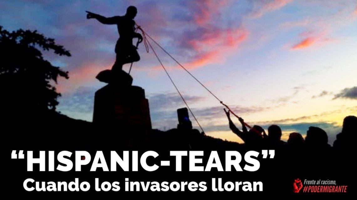 """12 DE OCTUBRE: """"Hispanic-tears"""" o cuando los invasores lloran"""